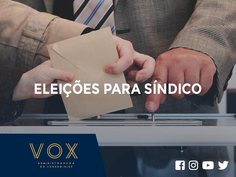 Eleições para síndico