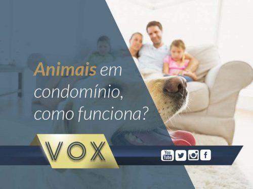 Animais no Condomínio - Vox Administradora de Condomínios