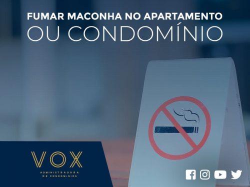 fumar maconha no apartamento ou condomnio