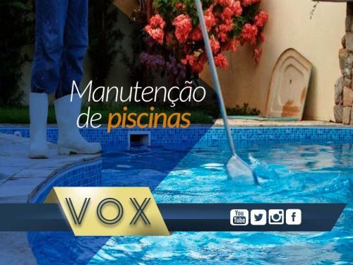 Manutenção de piscinas em condomínios - Vox Administradora